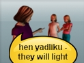 screenshot of hidlik (lit, kindled, turned on)