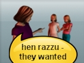 screenshot of razza (wanted)