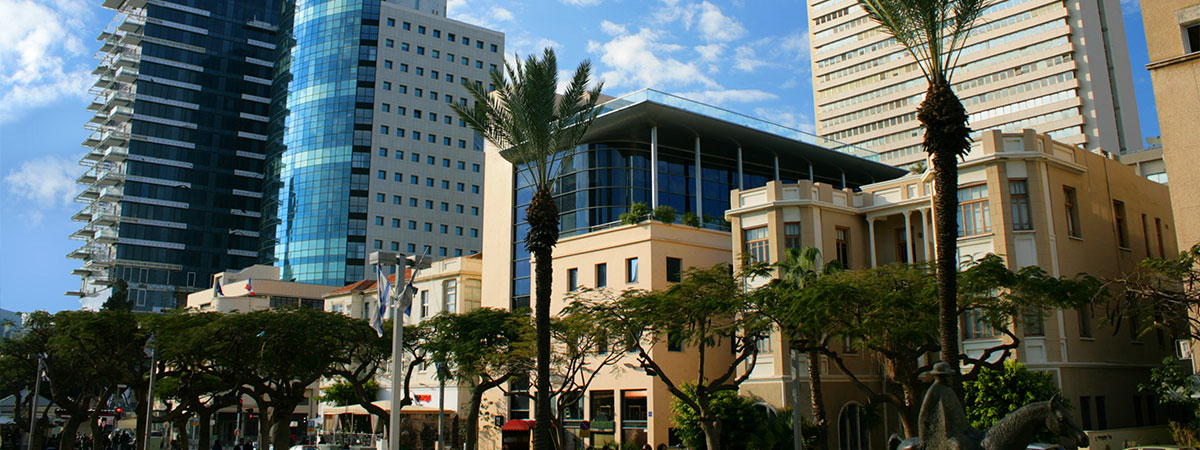 a photo of Rothschild Boulevard in Tel Aviv